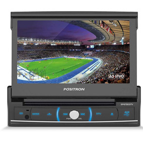 Dvd Player Positron 1din Sp6720 Dtv Touch Tv Digital 7