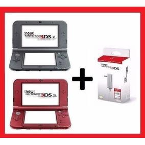 New Nintendo 3ds Xl Original Lacrado Americano + Carregador