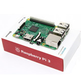 Raspberry Pi 3 Model B + Fuente 5v3a+ Case + Disipadores