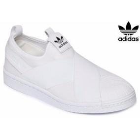 adidas Superstar Feminino Masculino Slip On Elastico Frete. 2 cores. R  200 50f2406825d3f