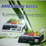 Balanza Digital Electrónica De 30kg American Boss