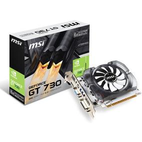 Geforce Msi Nvidia Gt 730 2gb Ddr3 128bit 1800mhz