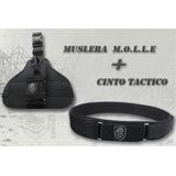 Promo Cinto + Muslera Regulable M.o.l.l.e Tacticos Coyote