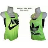 Franelillas Camisetas Dama Deportivas + Top Gym Ejercicio