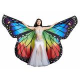Asa Wings Borboleta Isis Véu Dança Do Ventre Fantansia