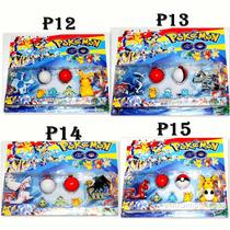Brinquedo Pokemon Go Kit Com Pokebola Coleção Promoção