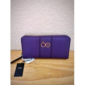Hermosa Cartera Cloe Color Lila A Sólo $649