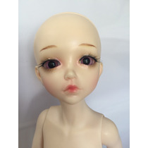 Boneca Bjd 1/6 Doll Corpo De Menina Normal Skin + Makeup