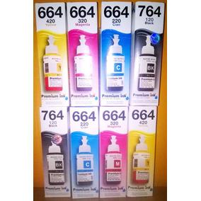 Tinta Epson Para Sistema Continuo L200 L210 L355 L3755 L555