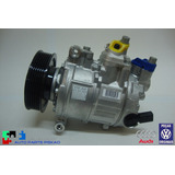 Compressor Ar Condic Jetta Audi Peca Nova Orig Vw 1k0820808a