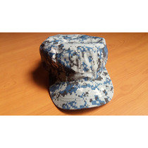 Gorra Militar Navy Marina De Los Usa Digital Pixelado Azul
