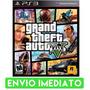 Gta 5 V Ps3 Grand Theft Auto Cod Psn Envio Imediato