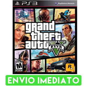 Gta 5 V Ps3 Grand Theft Auto Cod Psn Envio Imediato