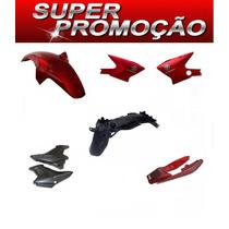Kit Carenagem Completa Ybr125 Factor Vermelho 2011