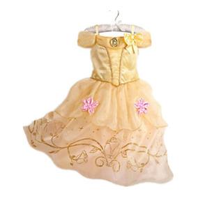 Fantasia Vestido Princesa A Bela E A Fera A Pronta Entrega