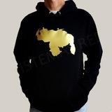 Sweater Tela De Mono Con El Mapa De Venezuela