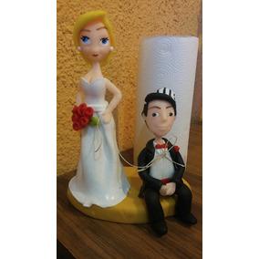 Pareja De Casamiento En Porcelana !