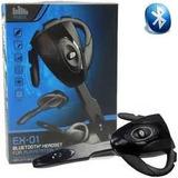 Fone De Ouvido C/microfone Bluetooth Para Ps3, Celular E Pc!