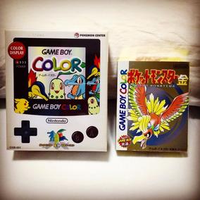Gameboy Color Exclusivo Centro Pokemon Japon Gold/silver