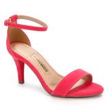 Sandália Salto Feminina Via Marte - Pink