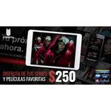 Netflix Full Hd 1 Meses 4 Pantalla- Tv Consolas Celulares Pc