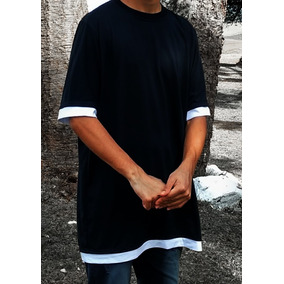 Camiseta Camisa Longline Oversized Swag Estilo Justin Bieber