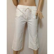 Pantalon Capri Algodon Talla S Para Verano