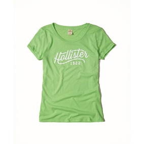 Remera Hollister Original Mujer Talles S Y M