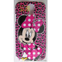 Capa Case Samsung Galaxy S4 I9500/i9505 Minnie Mouse + Frete