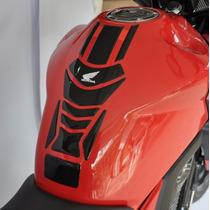 Protetor Faixa Tanque + Bocal Moto Honda Nova Cb 250 Twister