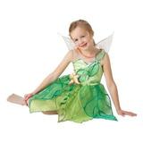 Disfraz Para Niña 3-4 Años Niñas Disney Tinkerbell Traje