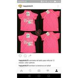 Camiseta Playera Ideal Para Proteger Del Sol Talla 4 Y 12mes