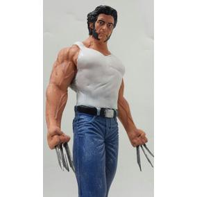 Boneco Logan Wolverine /estátua Em Resina
