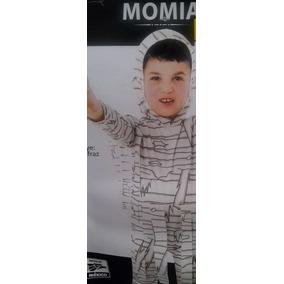 Disfraces Niño Halloween Dia De Muertos Momia Talla 7 A 8