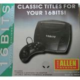 Consola Tipo Sega 16 Bits Con Juego Súper Completa- Garantía