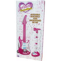 Guitarra Con Microfono De Pie Juliana Sonidos Y Melodias