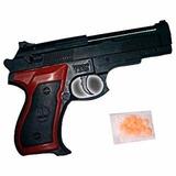 Pistola De Juguete 15 Cm Con Balines Plasticos Promoción