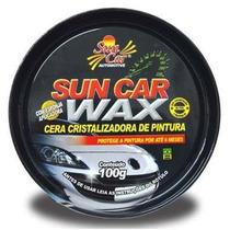 Cera Wax Cristalizadora Sun Car 100 Gramas
