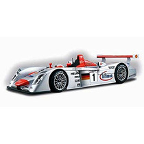 Le Mans-sieger 2001 Infineon Audi R8 Race Car #1, Silver -
