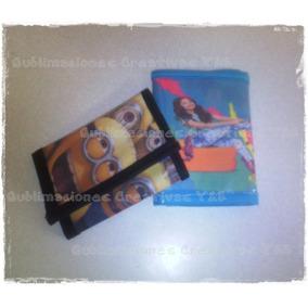 Carteras/billeteras Niños Personalizadas Soyluna/moana/car