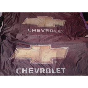 Dos Banderas De Chevrolet Automovilismo Fierreros Colección