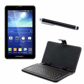Tablet 7 Função Celular 2chips + Capa Teclado & Caneta Touch