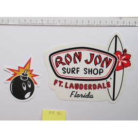 Adesivo Ron Jon Surf Shop Florida The Hundreds Bomb Skate