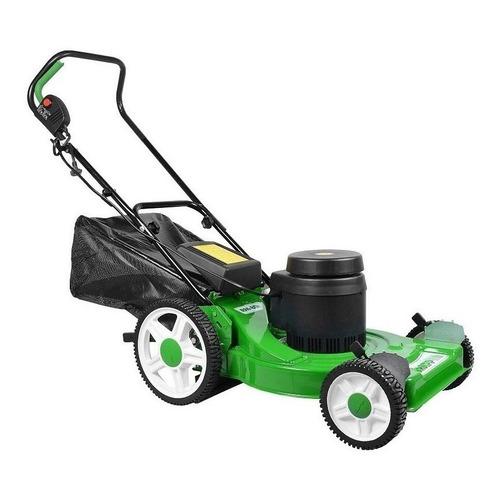 Cortador de grama elétrico Trapp RM 80E com cesto recolhedor 2500W verde e preto 127V