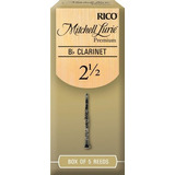 Mitchell Lurie Premium Bb Clarinete Reeds, Fuerza 2.5, Paqu