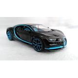 Auto Bugatti Chiron Escala 1:24 18cmsmetalico Marca Bburago