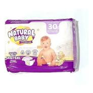 Natural Baby Premium Fralda Mega Sxg C/30