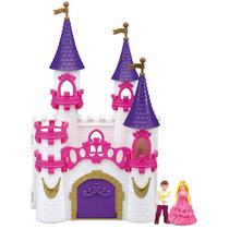 Brinquedo Infantil Castelo Encantado Com Boneca Dm Toys