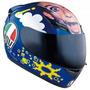 Capacete Agv K-3 Face Valentino Rossi - Frete Grátis -
