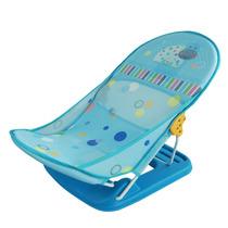 Cadeira Para Banheira Assento Suporte Banho Bebê Funny Azul